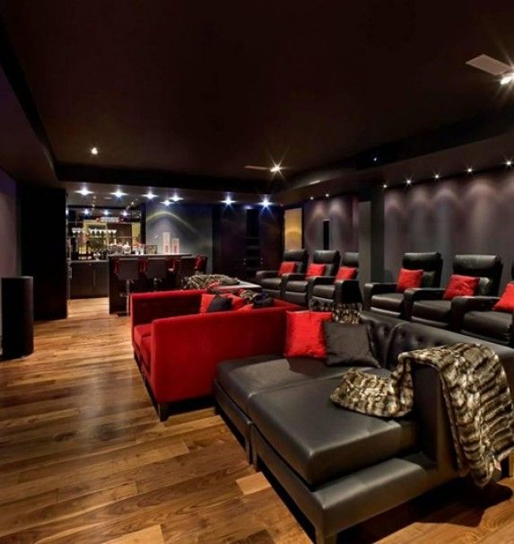 Attractive Amazing Home Movie Theater Decor Ideas. Cool Home Design Art Decor Ideas  Provide Design Ideas And Photos For Interior Design Ideas ,Living Room  Design, ...