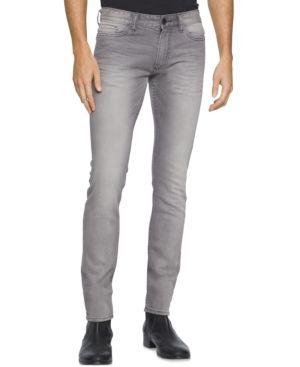 Calvin Klein Jeans Men's Slim Jeans - Gray 31x32
