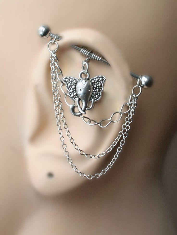 Best 25+ Industrial bar earring ideas on Pinterest ...