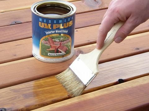 Staining, sealing & maintaining a deck