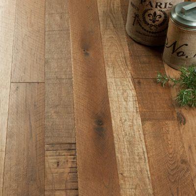 Hallmark Floors Organic Hardwood Collection Moroccan - Detailed Vignette  Hickory