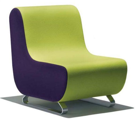 Parade Low Seating Modular chair on skid frameSatin chrome finishSuitable for reception and breakout spacesÂÂ
