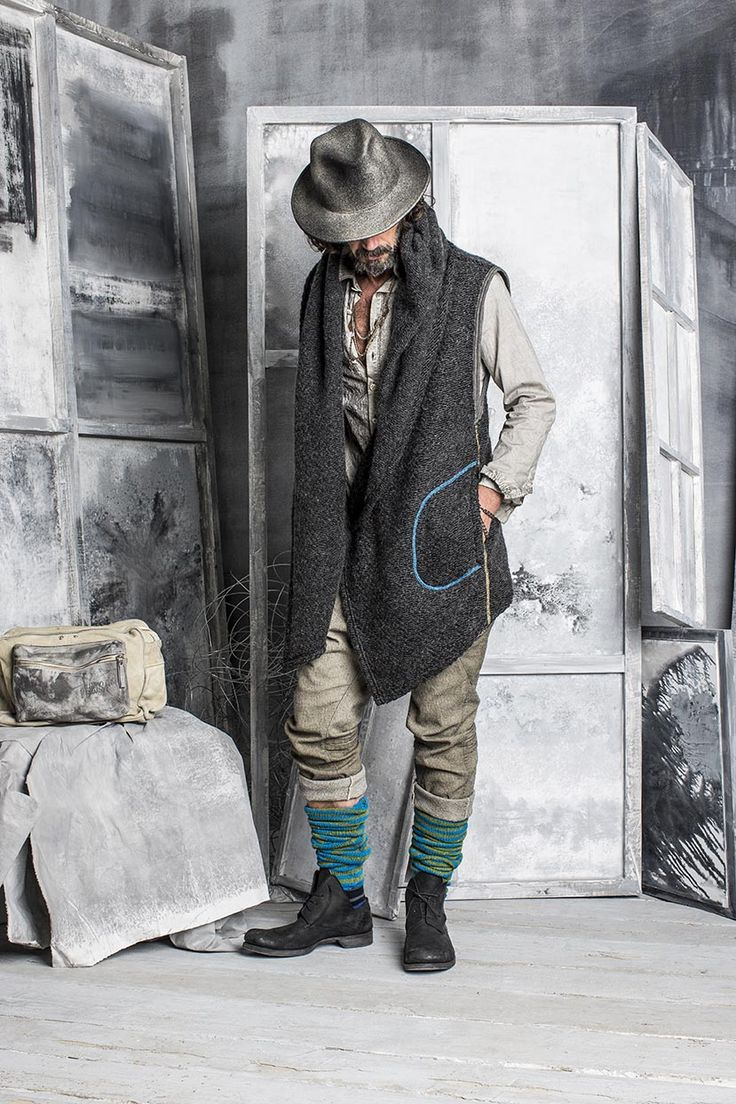 #danieladallavalle #collection #riccardocavaletti #fw15 #grey #hat #cardigan #trousers