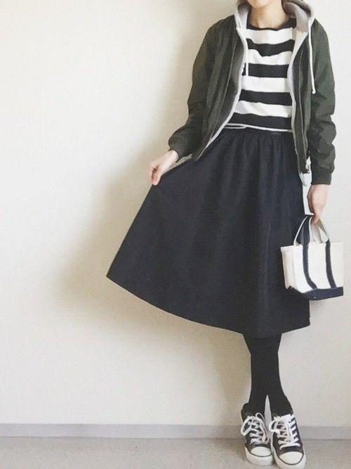 GUのブルゾンを使ったminminmaaaのコーディネートです。WEARはモデル・俳優・ショップスタッフなどの着こなしをチェックできるファッションコーディネートサイトです。