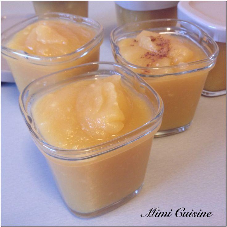 Compote pommes vanille Recette Companion - Mimi Cuisine