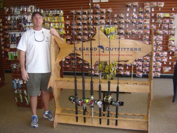 10 best images about fishing rod racks on pinterest | mouths, Fishing Rod