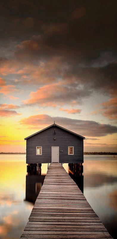 ~~Crawley Boatshed ~ sunrise, Perth, Western Australia by Ray Jennings AU~~