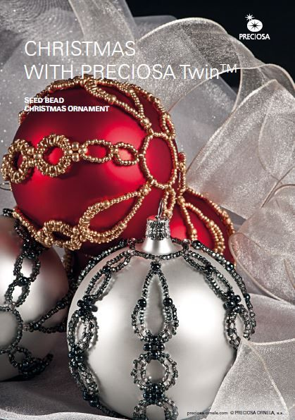 Beautiful Beaded Christmas Ornament Tutorial - The Beading Gem's Journal