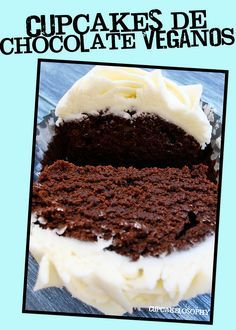 Cupcakes de chocolate VEGANOS!!