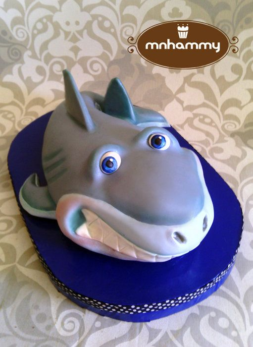 Cake Decorating Ideas Shark : 17 Best images about Shark Week Party on Pinterest ...