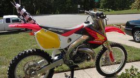 Buy Honda CR 500 Motocross Service Honda on 2040motos