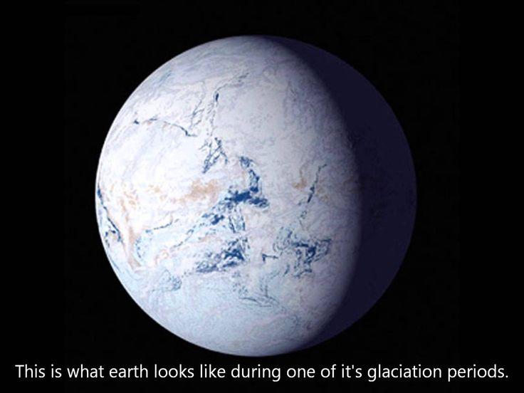 (Precambrian Cryogenian) Snowball Earth 700 million years ago.