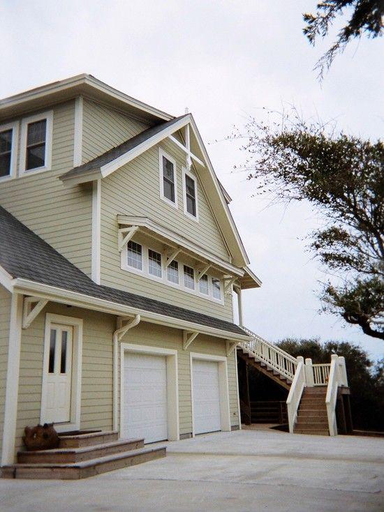 Modern bright beach house applying soft exterior color - Beach house color schemes exterior ...