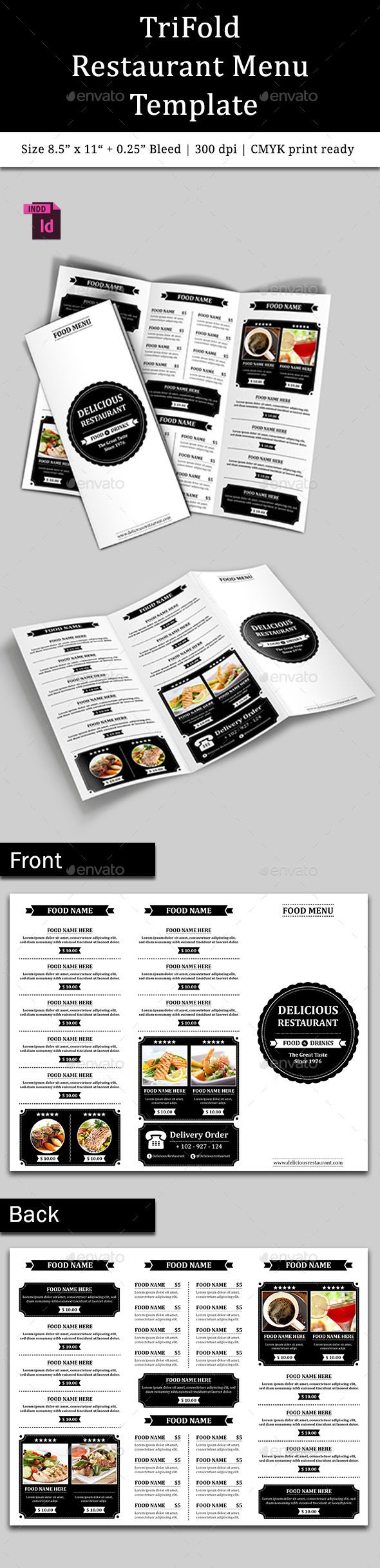 Best Diner Project Images On   Menu Cards Menu