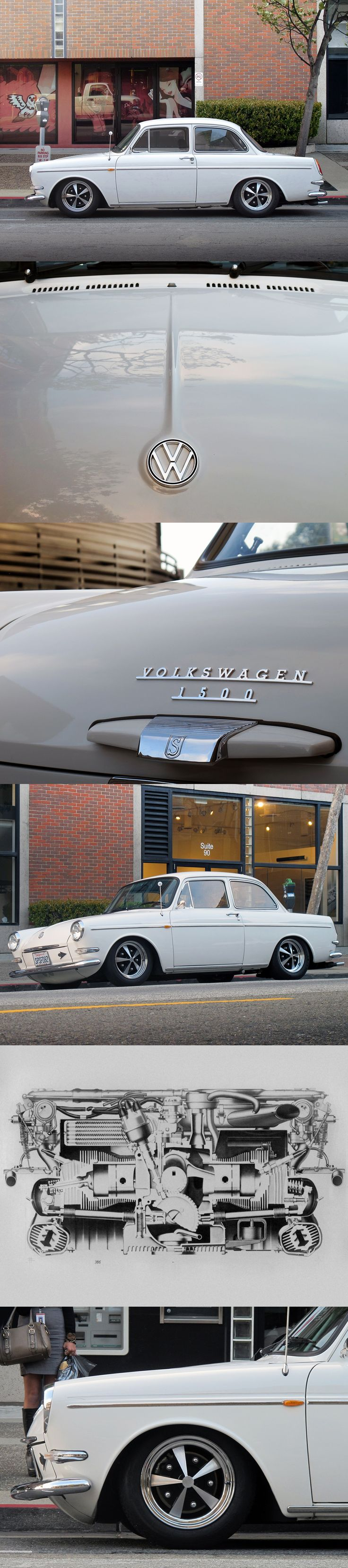Volkswagen Type 3 Notchback | 1964  The Type 3 comes from an era when cars were more friendly in their appearance. And an example from 1964 is quite special considering the US didn't even start importing the Type 3 until 1966. Powered by a 1500cc air-cooled flat-4, the Type 3 was also produced as a wagon and a fastback. Collect them all.