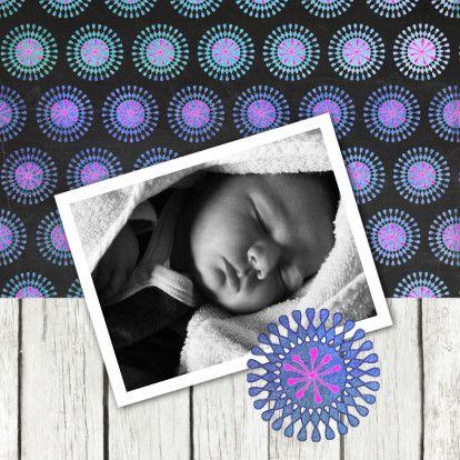 Leuk geboortekaartje met foto - Geboortekaartjes - Kaartje2go