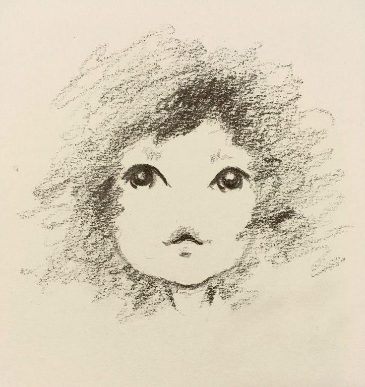 A cute Little face | Pencil Illustration