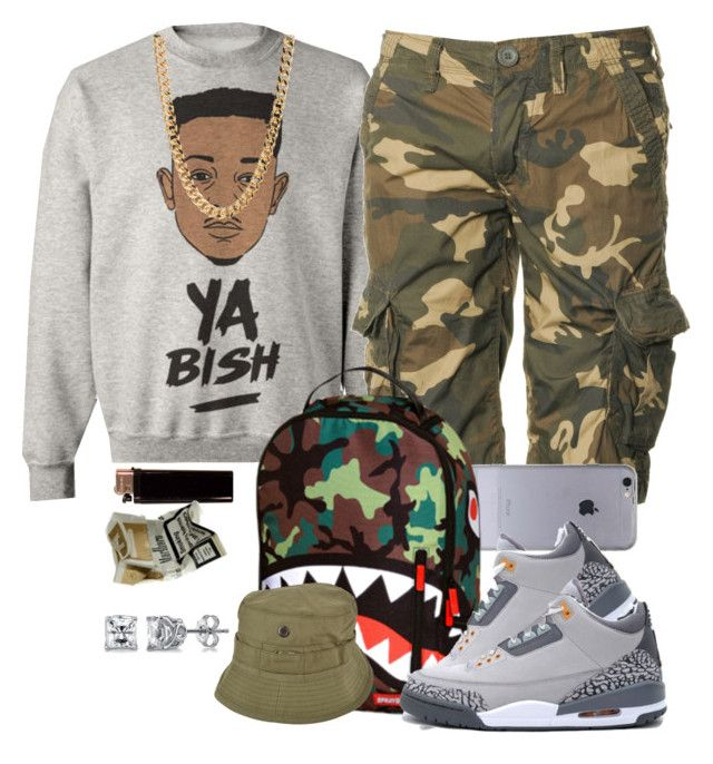 """First Guy Outfit I Made"" by khella ❤ liked on Polyvore featuring Superdry, NIKE, Maharishi and BERRICLE"