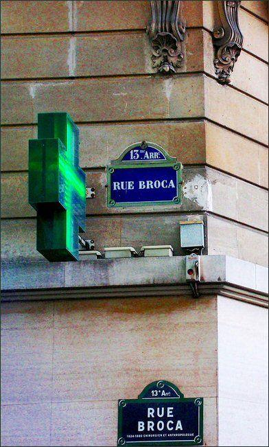 La rue Broca  (Paris 5ème/13ème)