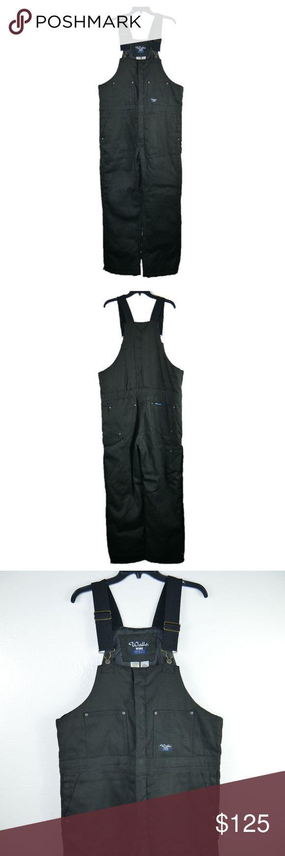 walls work wear insulated canvas duck bib overalls when on walls workwear insulated coveralls id=56104