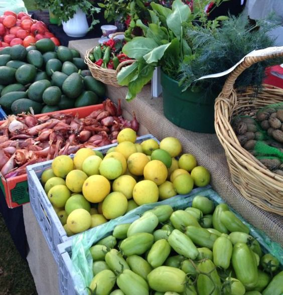 Sunraysia Farmers Market vegies and fruits are just beautiful and so fresh!!