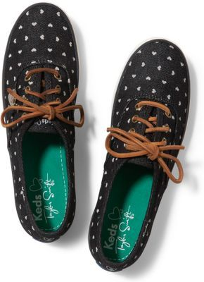 Have you seen these Taylor Swift Keds? Denim and hearts of course