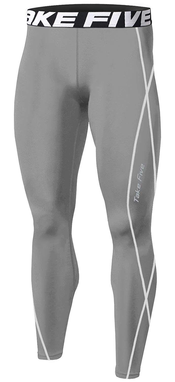 Gym Fitness Mens Compression Shorts Base Layer Running Yoga Short Long