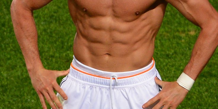 Ronaldo's Abs Are The Champions Of Europe