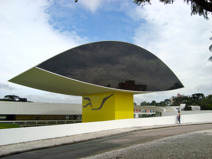 Museu Oscar Niemayer, Curitiba, PR, Brasil