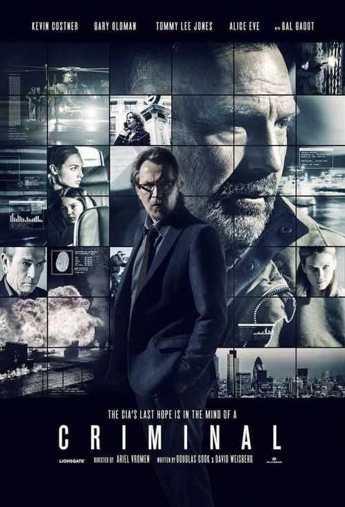 Watch Criminal (2016) Full Movie Online Free