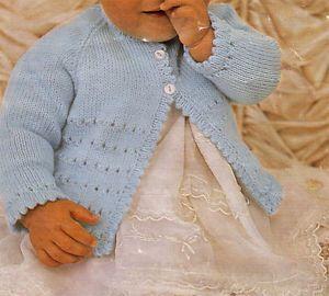 Baby Swing Coat Knitting Pattern | Red Heart