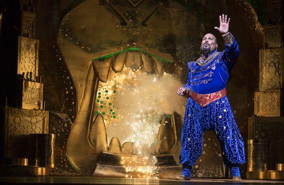 Cave of Wonders Set | Aladdin Broadway