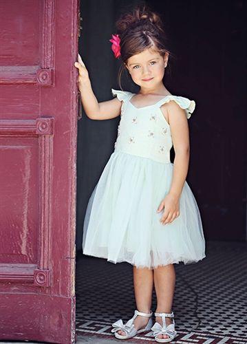 Joyfolie Opal Dress - Seaglass