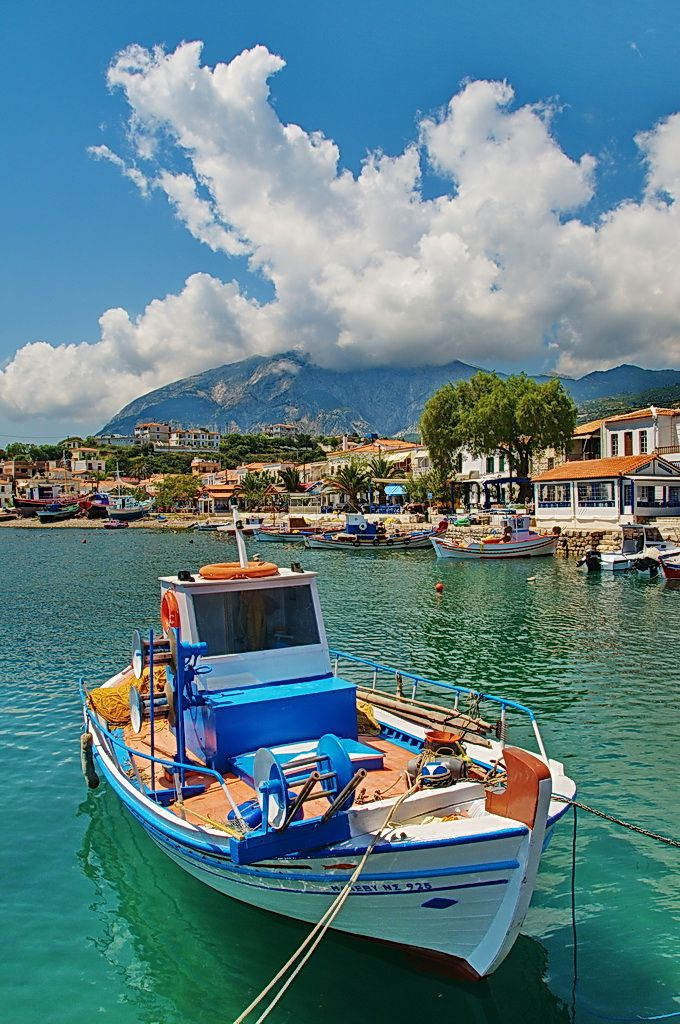 Marathokampos, Samos, Greece