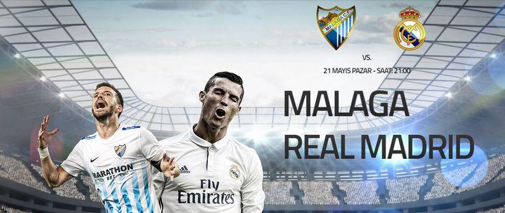 Malaga – Real Madrid İspanya #LaLiga'nın şampiyonu bugün ki karşılaşmaların tamamlanması ile belli oluyor. Rakibi ile üç puan fark ile sahaya çıkacak olan #RealMadrid yenilmemesi halinde bu sezonun şampiyonu olacak. Konuk olacağı Malaga deplasmanında sadece bir puana ihtiyacı olan #Zidane'nın ekibi mutlu sona ulaşabilecek mi. Diğer etkinliklerimiz ve maç esnasında #Canlıbahis seçeneklerimiz ile #Enyüksekbahisoranları #Betend'de sizlerle. Malaga (8,90) – Beraberlik (6,55) – Real Madrid (1,28)…