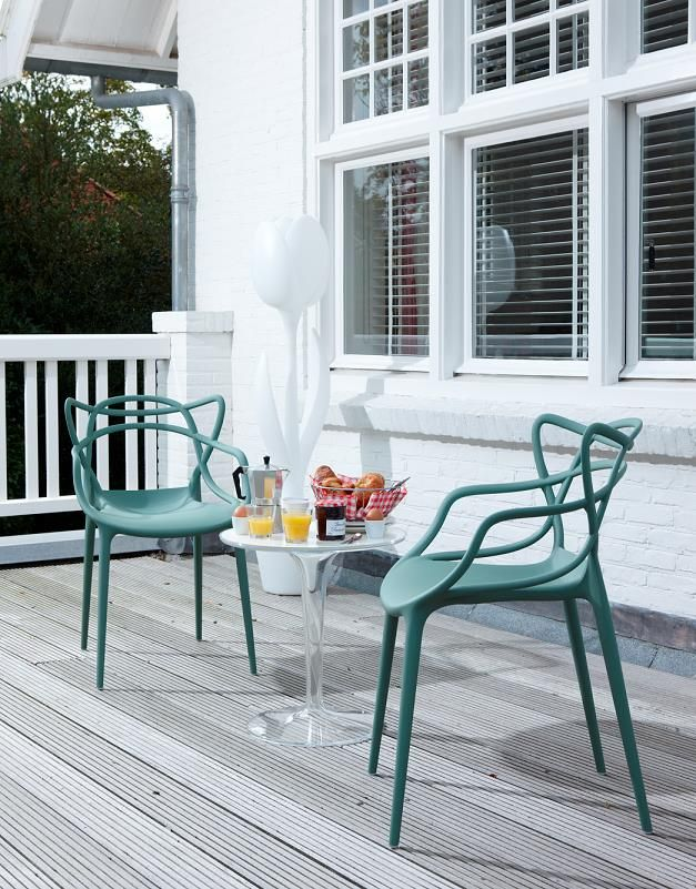 Morning breakfast on a roof terrace with Masters and TipTop  Credits   misterdesign nl   Balcony GardenPhilippe StarckMasters Chair. 90 best images about Masters on Pinterest   Design files  Eero