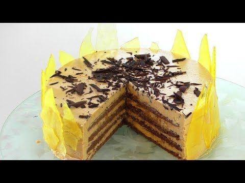 (243) торт КРЕМ БРЮЛЕ. оообъеденье. Creme brule cake. - YouTube