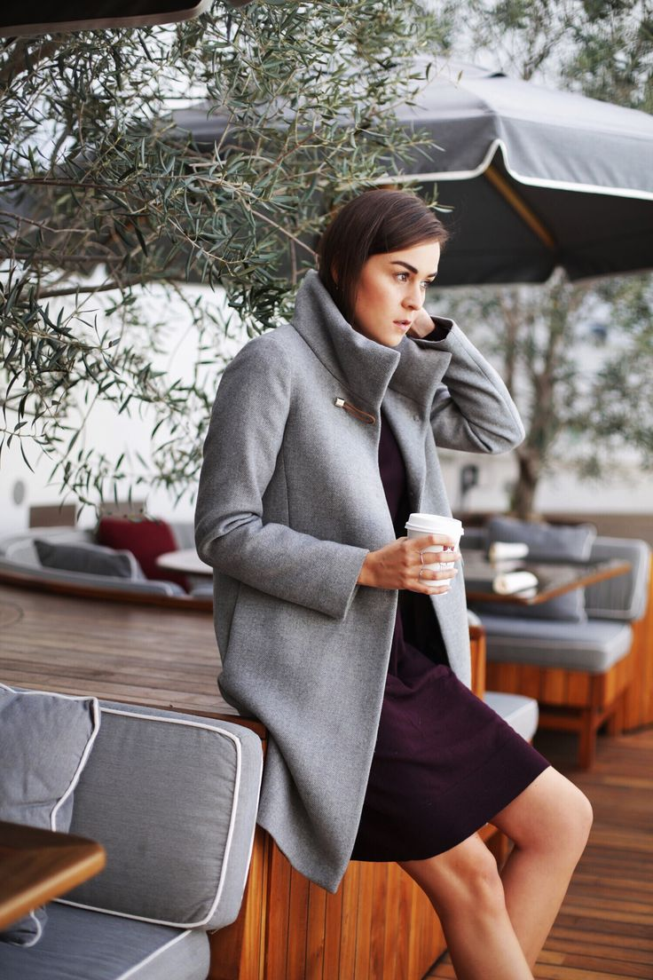 """This coat is a versatile mix between feminine, elegant and effortless. A perfect companion for my Double Life experience"" - Andy Torres"