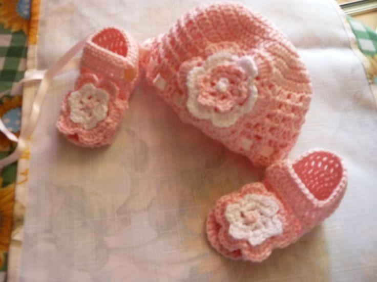scarpette e cappellino...my work