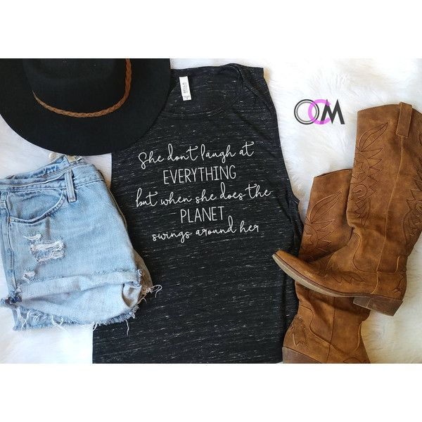 I Met a Girl Tank Sam Huntin Tank Sam Hunt Concert Tank Sam Hunt Lyric... ($22) ❤ liked on Polyvore featuring tops, drapey tank, loose fitting shirts, unisex tank tops, loose fitting tank tops and loose shirts