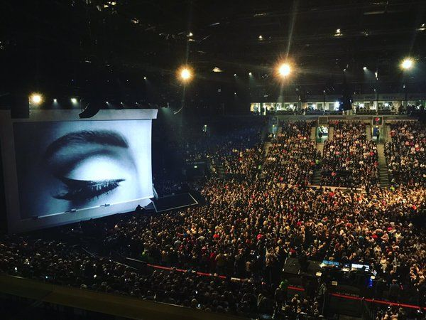 Opening night of @Adele on tour & excitement is building in Belfast