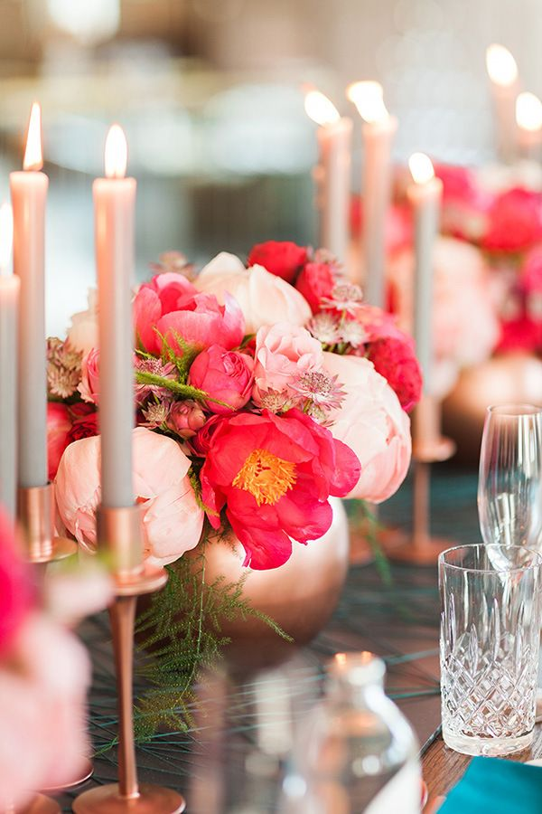 Best rose gold wedding colors images on pinterest