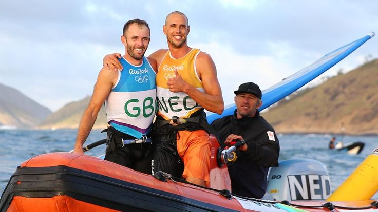 GB's Nick Dempsey claims Rio windsurfing silver, Van Rijsselberghe wins gold