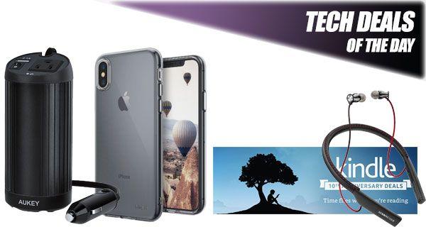 Tech Deals: $4 iPhone X Case, $50 Off Sennheiser Premium Wireless Headphones, Kindle Deals, More