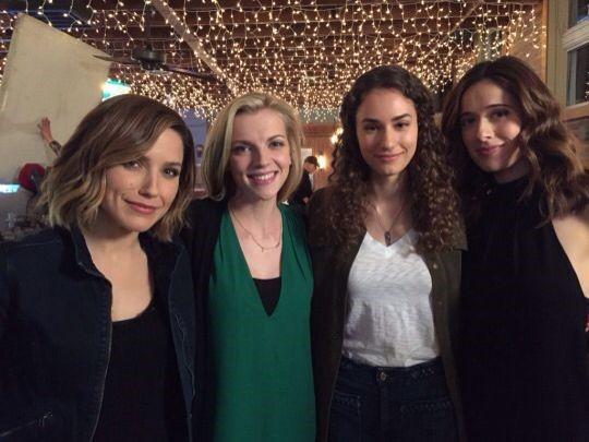Sophia Bush, Kara Killmer, Rachel DiPillo, and Marina Squerciati