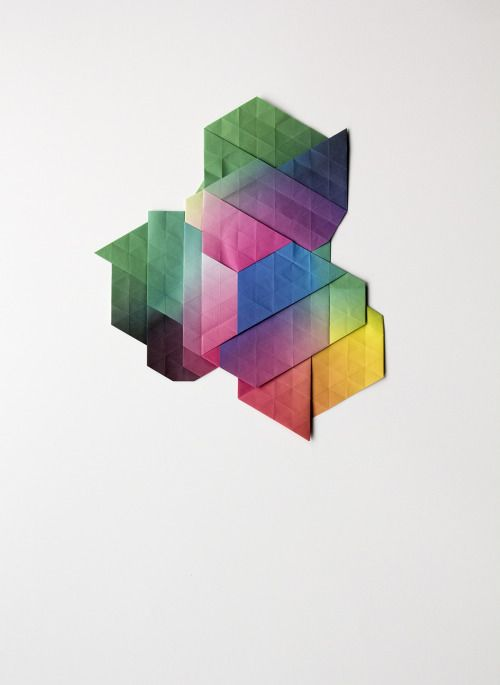 aldotolino:  Rift by Aldo Tolino Constellation of folded...