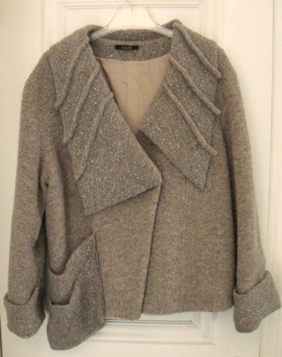 Oliver Jung wool blend jacket