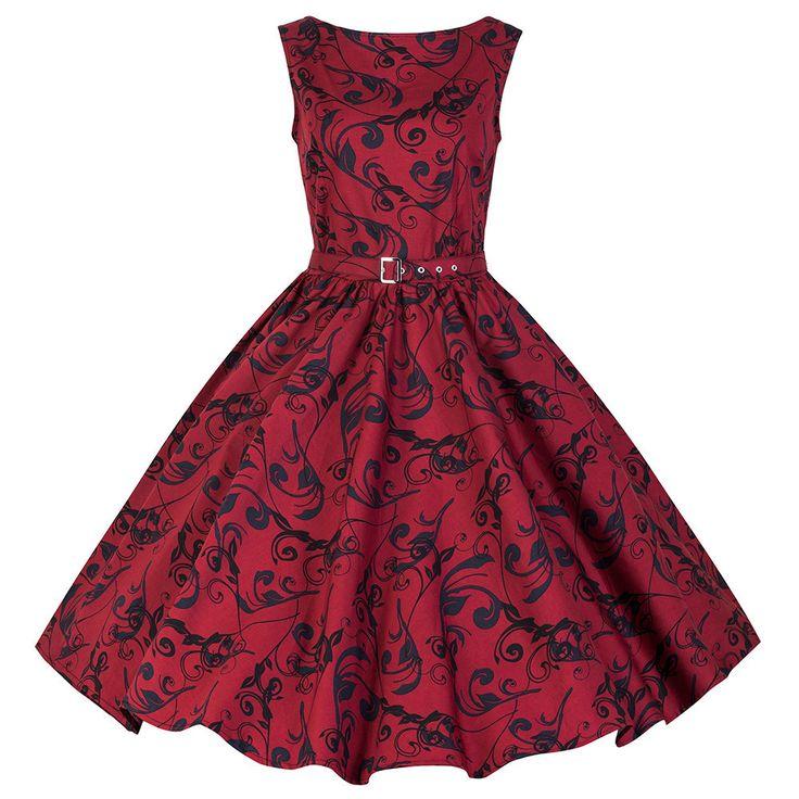 Pretty Kitty Vintage Red Sleeveless Swing Dress – Pretty Kitty Fashion