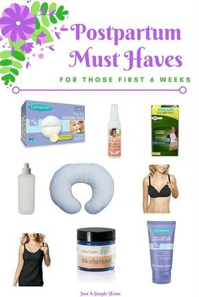 Must Have Postpartum Essentials for the First 6 Weeks - Postpartum Recovery Essentials that every new mom needs. I wish someone had told me what to expect after labor and delivery. I am now expecting my 7th baby and there are postpartum items that are must haves for me. Have these on hand for an easier postpartum recovery. sponsored