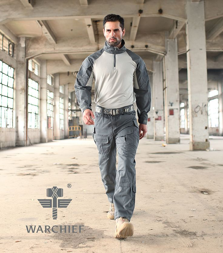 Chiefs Frog Tactical Uniform Set(Gray) #airsoft #365airsoft #bdu